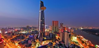 Ho Chi Minh City Nightscape