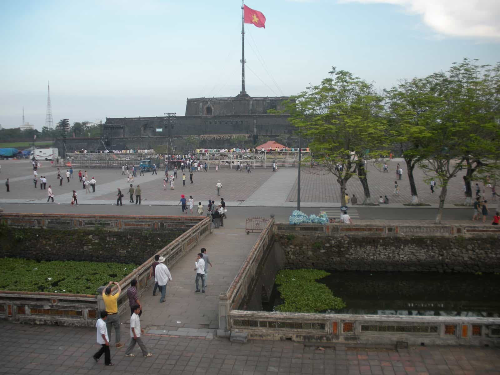 The Central city of Hue Vietnam