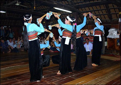 Mai Chau Traditional Dancing