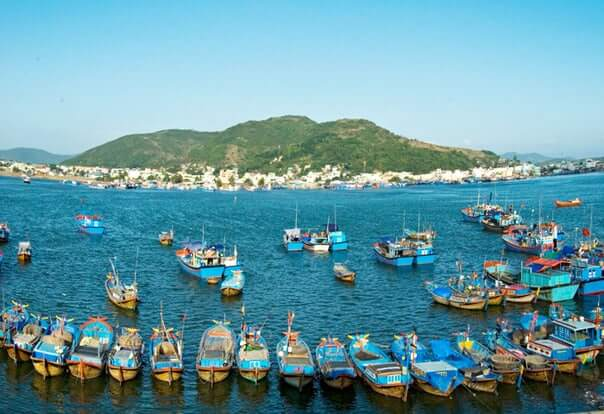 Vung Tau Fishing Boats Vietnam
