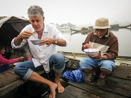 Anthony Bourdain Sharing meal with Vietnamese Fisherman