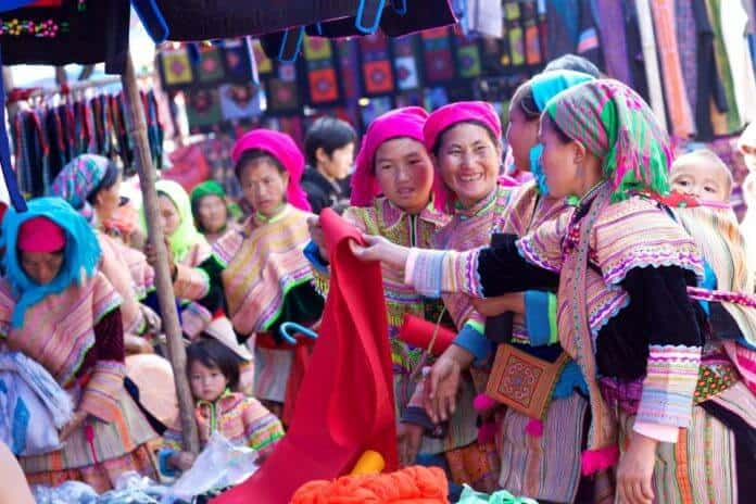 The Colourful Markets of Sapa