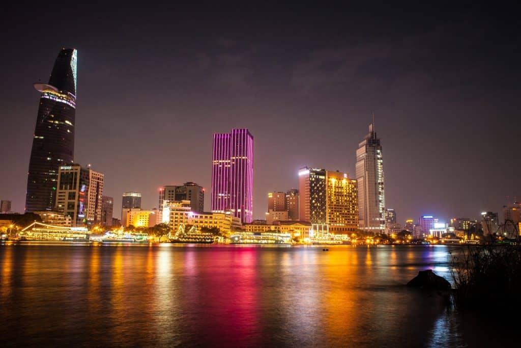 Saigon Vietnam Nightscape