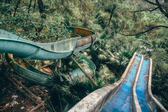 Abandoned Theme Park Hue