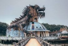 Ho Thuy Tien Abandoned Theme Park