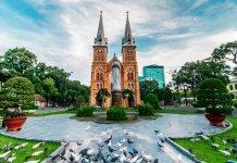 Saigon Notre Dame Basilica, Vietnam