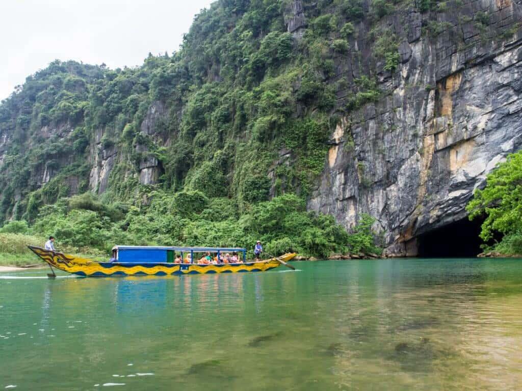 Entrance to Phong Nha Cave