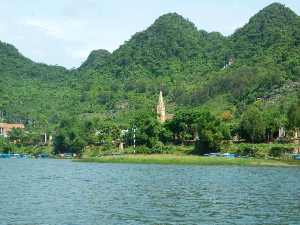 Phong Nha Cave Rover View Church