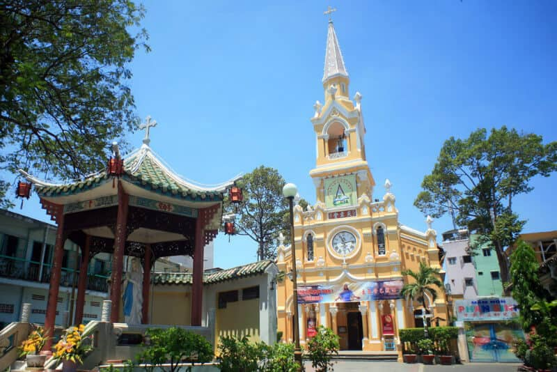Famous Churches of Ho Chi Minh City The Cham Tam Cathedral