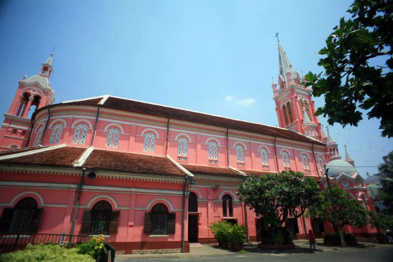 Tan Dinh Church, Famous Churches of Ho Chi Minh City