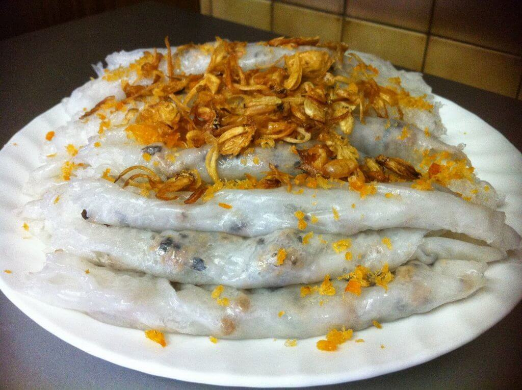 Banh Cuon Rolled Rice Rolls
