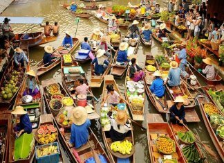 Cai Rang Floating Market Must See Places in Vietnam