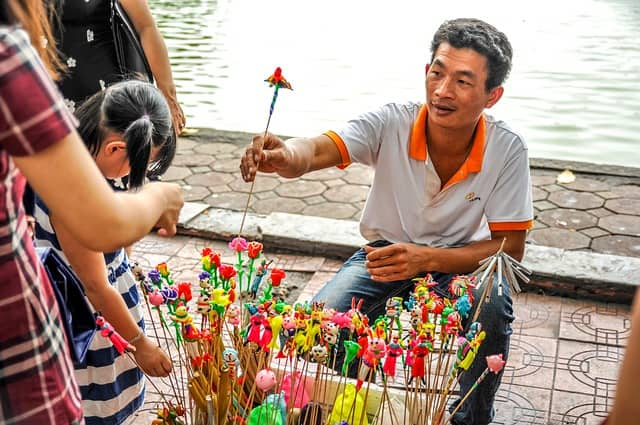 Vietnam Toy Vendor