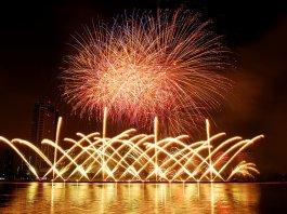 Fireworks Danang Vietnam