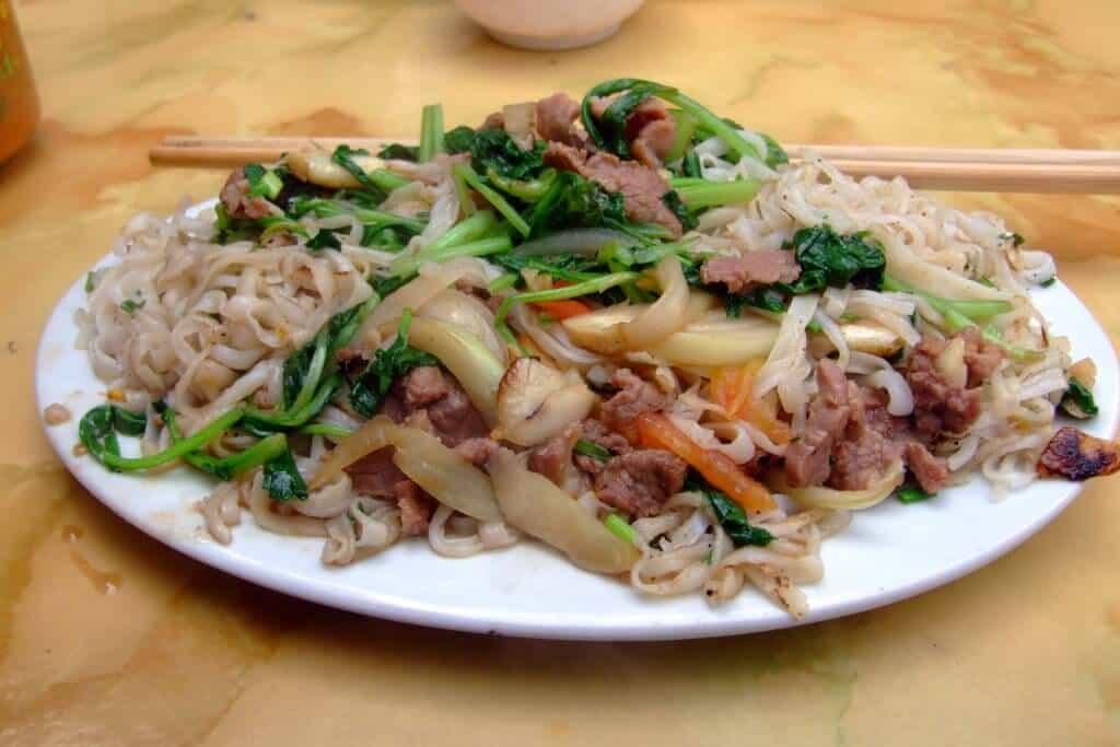 Pho Xao Bo