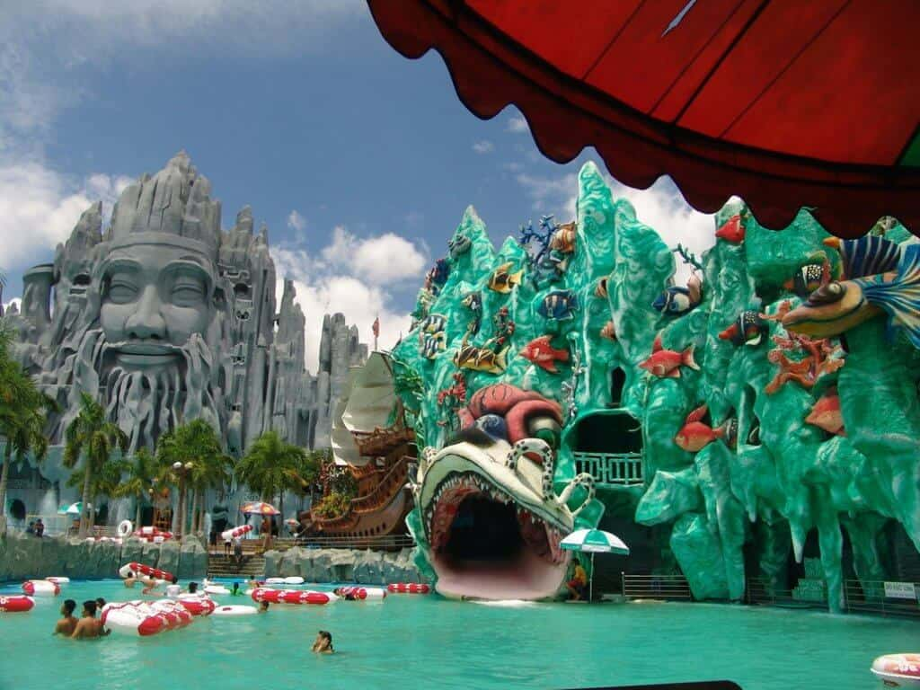 Waterpark Visit Vietnam with Kids