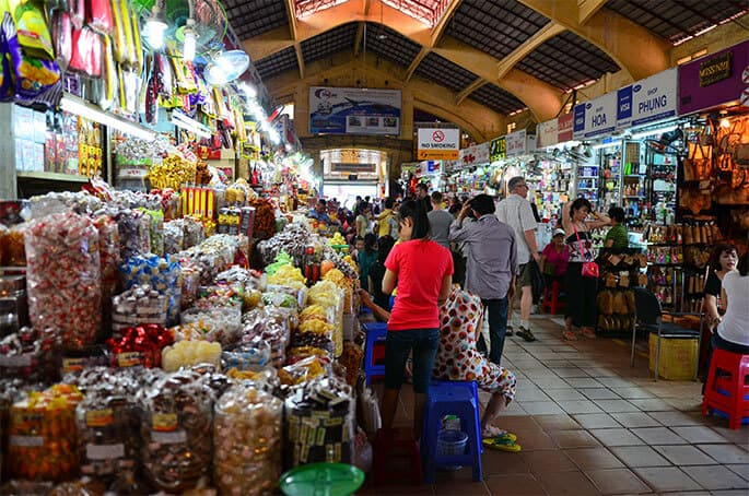 Where to go shopping in Ho Chi Minh City - Food and Travel Vietnam