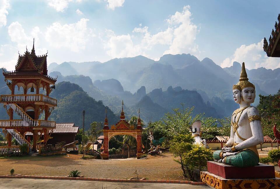 Laos Famous Temples