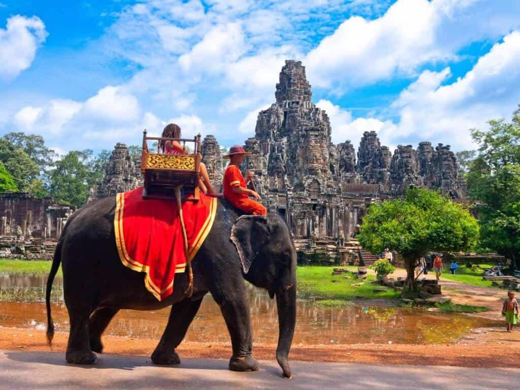 Elephants Siem Reap