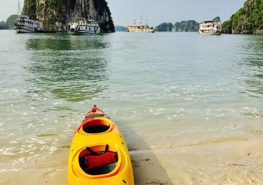 Kayaking Halong Bay Vietnam for Extreme Adventure