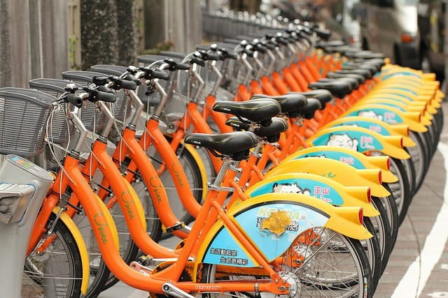 Public Hire Bikes Taiwan