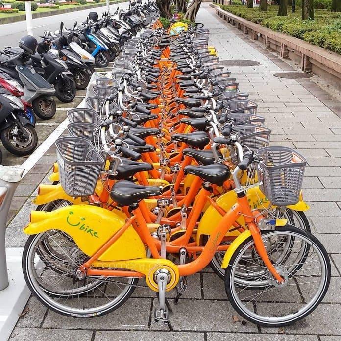 UBike Hire Bikes Taipei