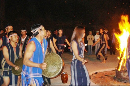 Ch Ru Ethnic Minority Vietnam