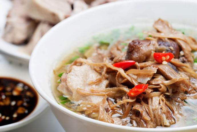 Pig Tongue Bamboo shoot Soup