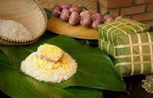 Banh Chung Sticky Rice