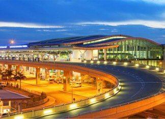 Danang Airport Night