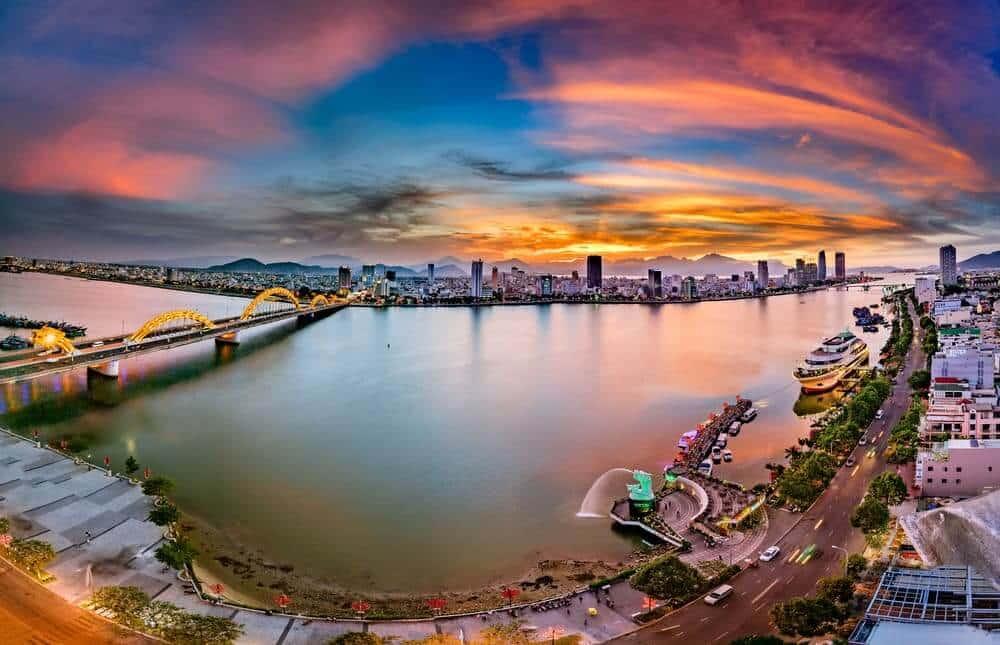 Da Nang city, Vietnam