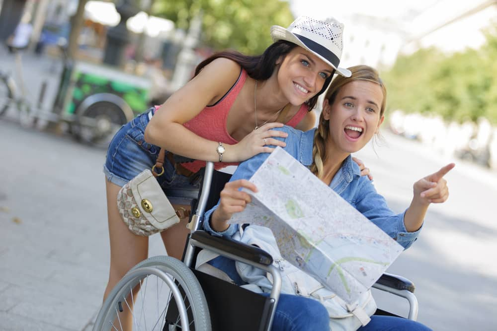 Disabled Tourists spend holidays to Vietnam