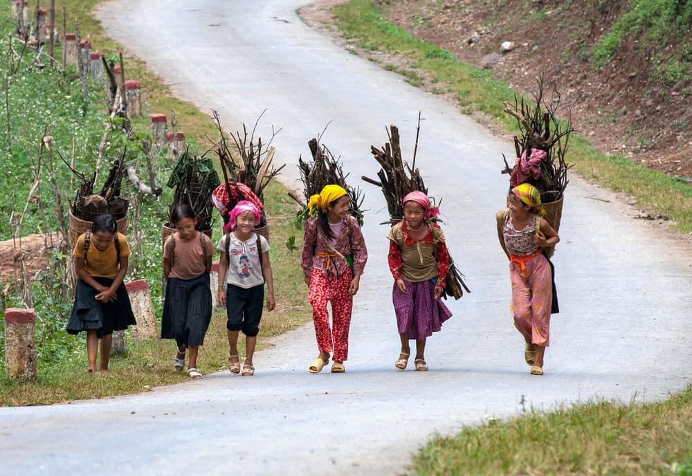 Exploring Northwest Vietnam, Mai Chau