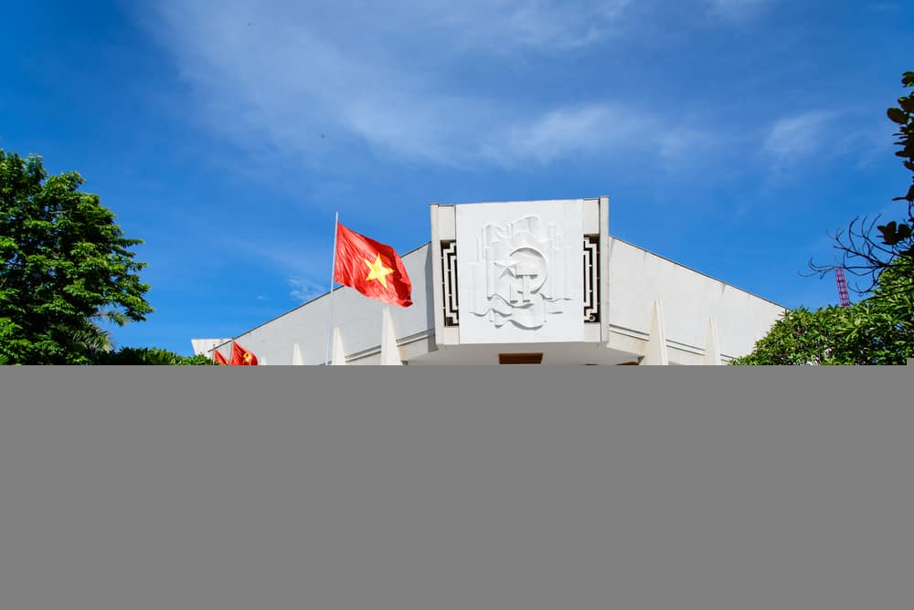 Ho-Chi-Minh-Museum-in-the-capital-of-vietnam