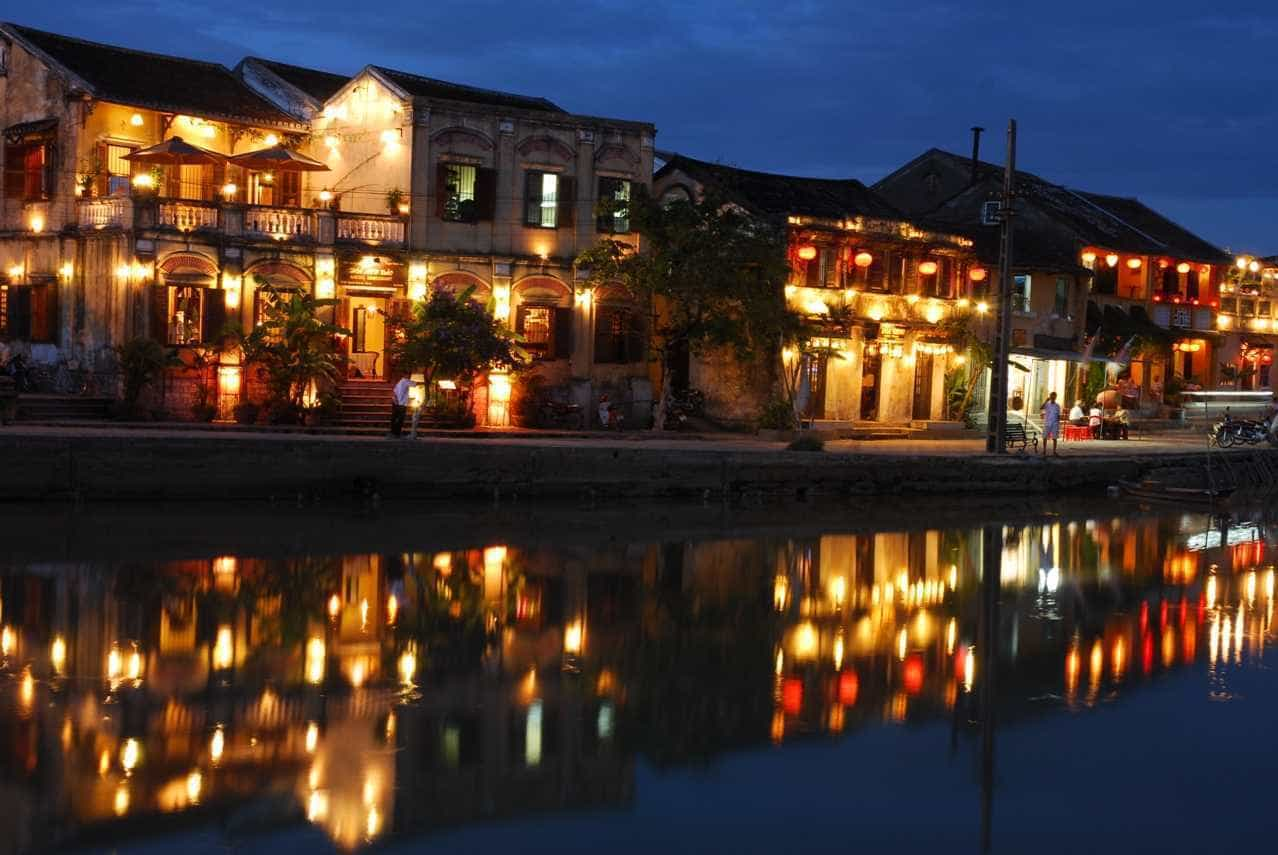 Hoi An Riverside Nightscape