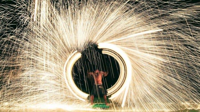Koh Samet Fire Artist